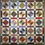 Peggy James _ Mount Vernon, IL _ Scrappy _ 2010 _ quilted by Peggy Fouch