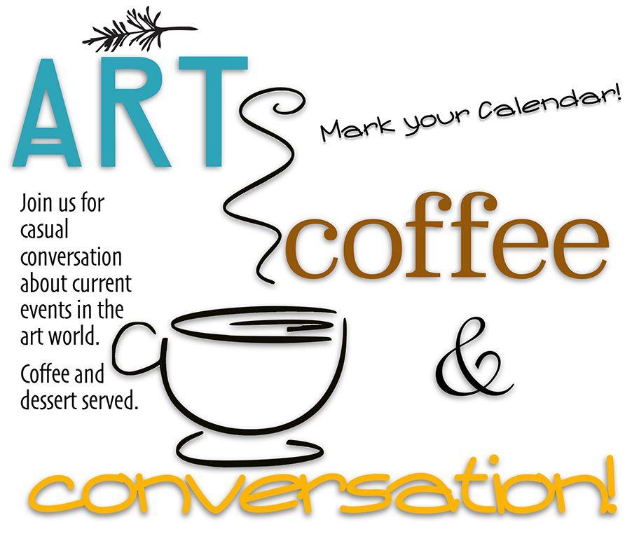 art, coffee and conversation