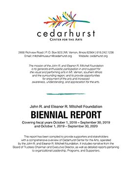 Cedarhurst Biennial Report 2018-2020
